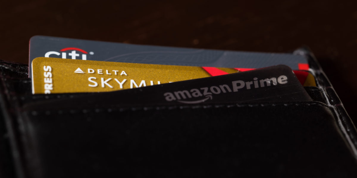Credit Cards in Wallet - Photo Cred: Nathan Gross