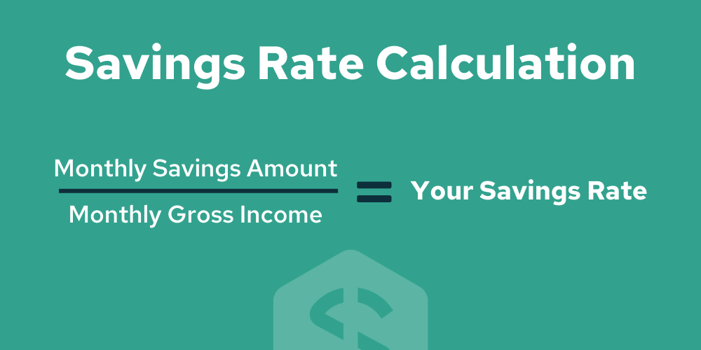 Savings rate calculation - how to calculate your savings rate - Savology free financial planning
