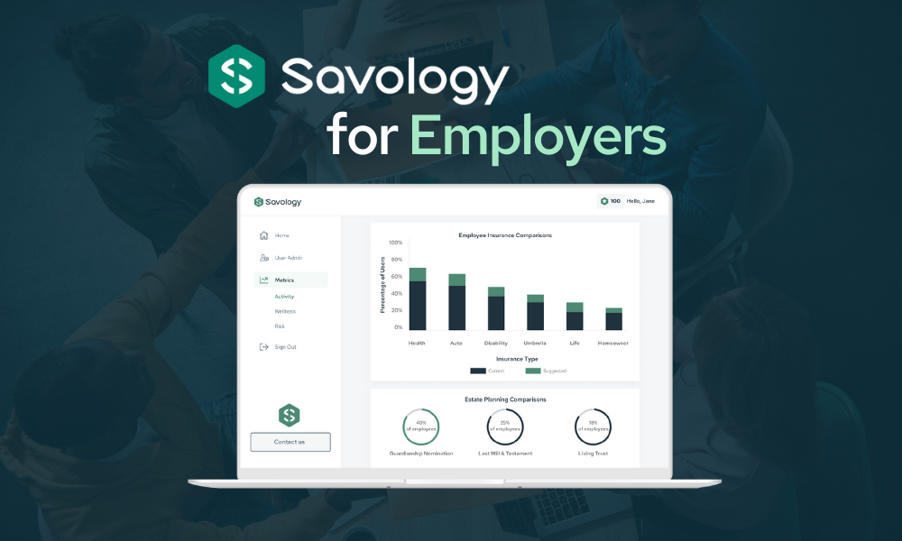 Savology For Employers - Providing personalized financial planning for employees