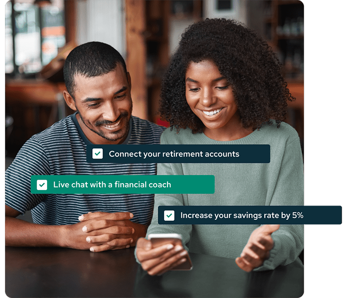 Connect your retirement accounts